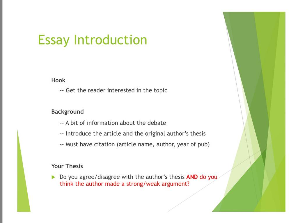 conclude essay analysis What you find worthy of detailed analysis in source a may be mentioned only in   summarize one point at a time, with the essay author's idea stated at the end.